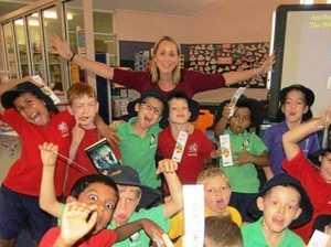 Author helps Coast kids build skills