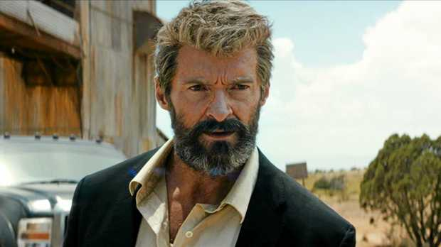 FIERCE: Hugh Jackman in a scene from Logan.