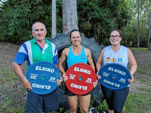 Rod Wecker, Leanne Knox and Cait Halsey recently competed at the North Queensland Open.
