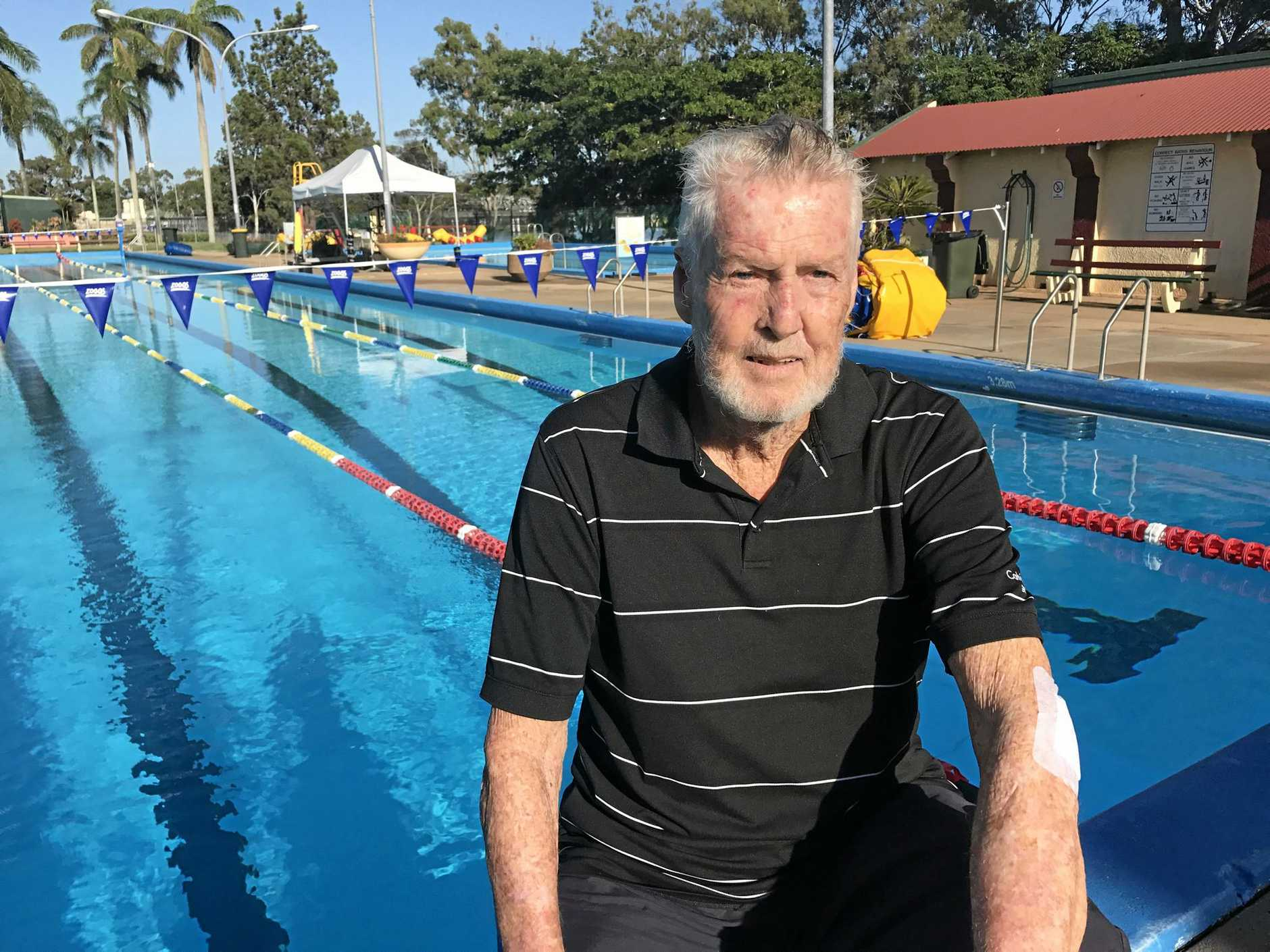 SKIN CANCER: Trevor McIntosh reflects on his days in the sun as a youngster after he was diagnosed with terminal skin cancer 11 months ago. He now wants to share his story and tell others to be sun smart.