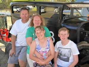 Shell Harbour to Warwick just to drive a hot rod in drags