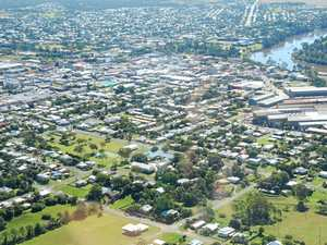 Aerial view of Maryborough.