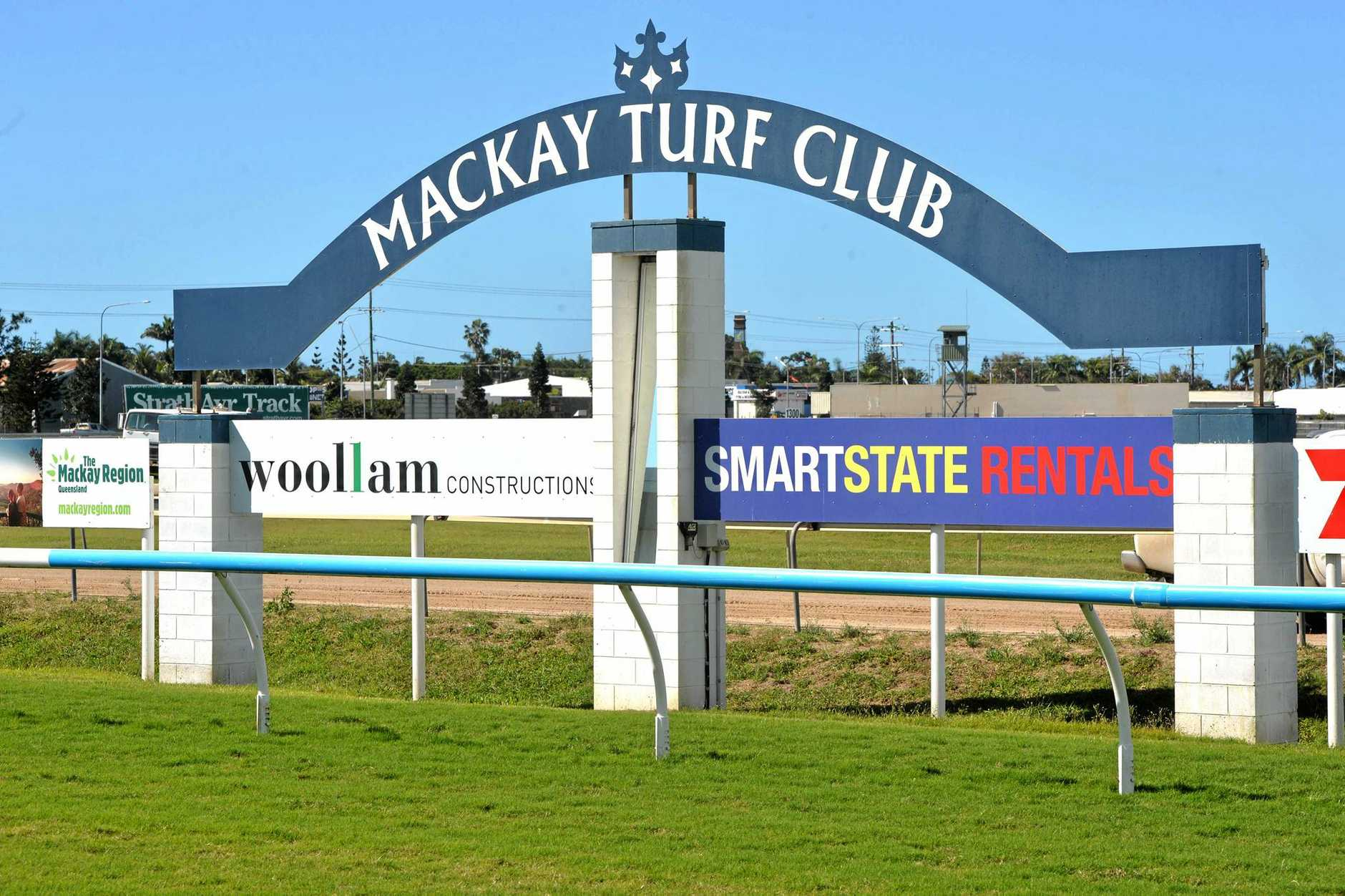 Mackay Turf Club - Finish