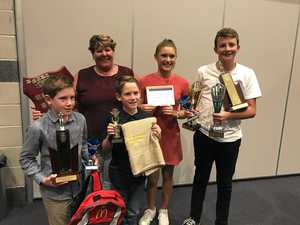 Swimmers win big at awards
