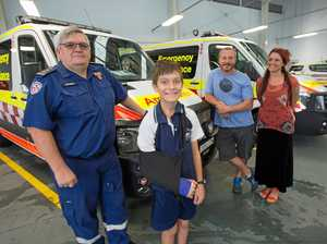 Relief as boy recovers from serious Jetty fall