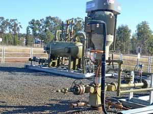 Generic: Gas well at Talinga APLNG gasfield.   Photo Derek Barry / Surat Basin News