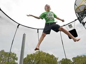 1800 trampoline injuries have paramedics jumping