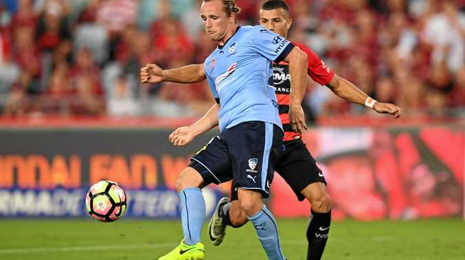 Sydney FC's Rhyan Grant has been called into the Socceroos squad for the World Cup qualifying clashes against Iraq and the United Arab Emirates.