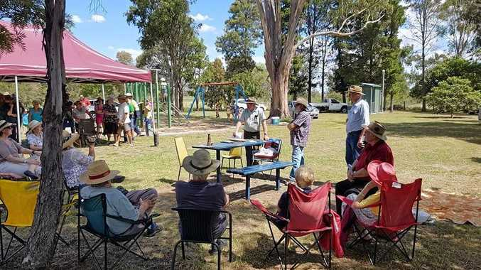 PARK UPDATE: Residents met to discuss submissions to council for replacement structures for the Swanfels shelters.