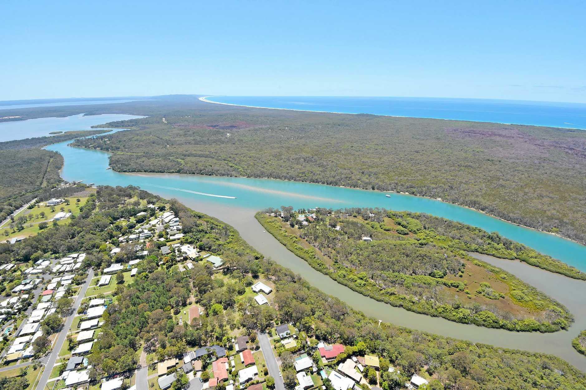 Aerials of the Sunshine Coast taken on Thursday 23 October, 2014 for advertising feature: Makepeace Island Photo: Brett Wortman / Sunshine Coast Daily