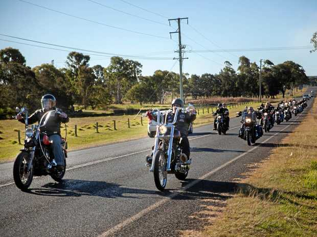 GOD'S SPEED: God's Squad Motorcycle Club will ride into Chinchilla at the weekend.