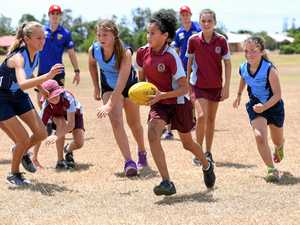 Plans for Bundy Aussie rules comp for girls