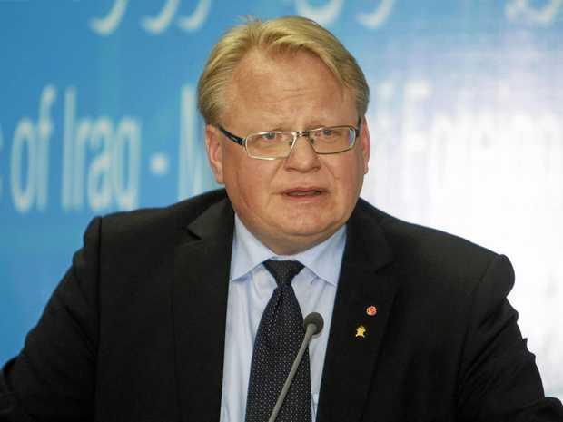 Sweden's Defence Minister Peter Hultqvist.