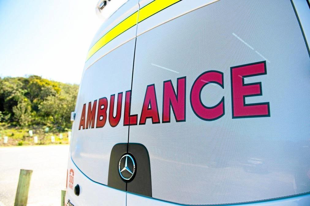 Emergency services attended a car crash at Billinudgel.