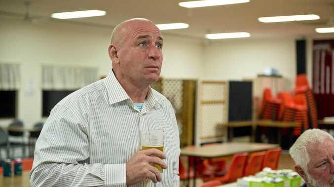 Acting Gladstone Region mayor Chris Trevor.