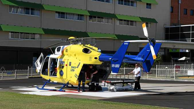MUSTERING INJURY: A 60-year old man was airlifted to Bundaberg hospital after being thrown from his horse.