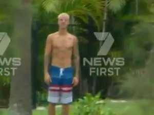 Justin Bieber's middle finger salute to Coast cameras