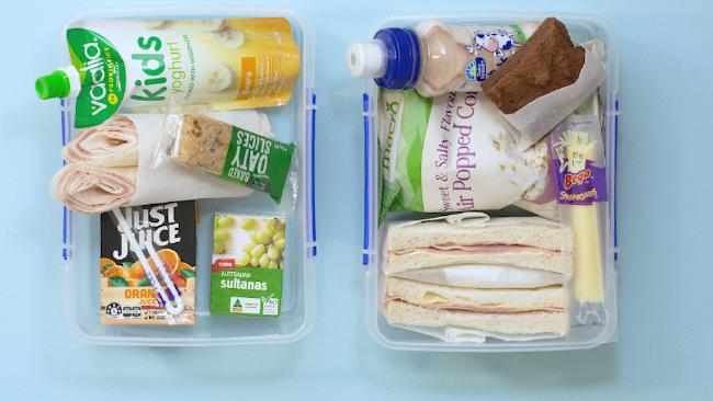 Take a look at these two lunch boxes and see which one you think you'd choose for your kids.Source:news.com.au