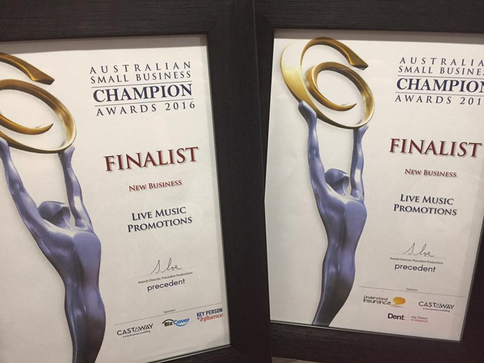 Sammie Milgate has been nominated for the Australian Small Business Champion Awards two years in a row.