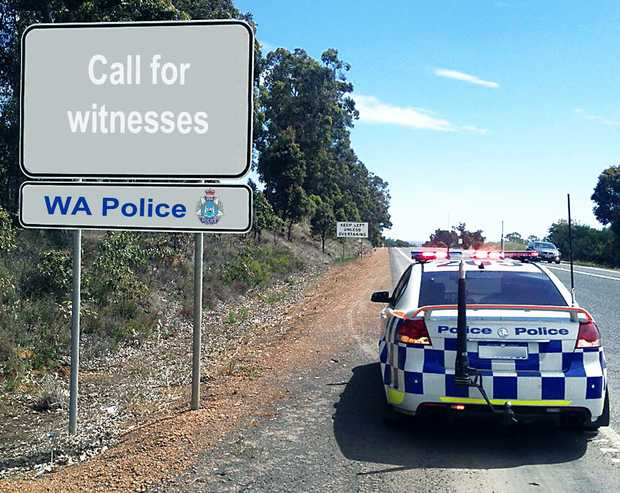 CALL NOW: Western Australian Police are calling for witnesses.