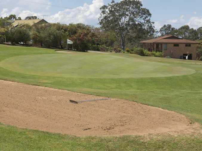 Grafton Golf Club Hole 11 green Photo Adam Hourigan / The Daily Examiner