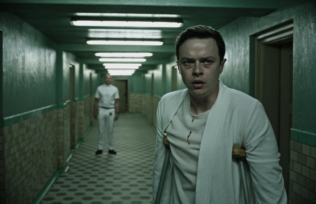 Dean DeHaan in a scene from the movie A Cure For Wellness.