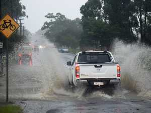 RESCUES: SES removing cars from flood waters