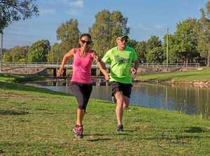 Big group joins for fun at parkrun
