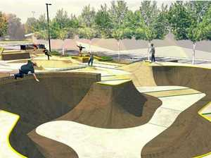First designs of world class skate park released