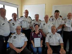 Coast Guard volunteers recognised