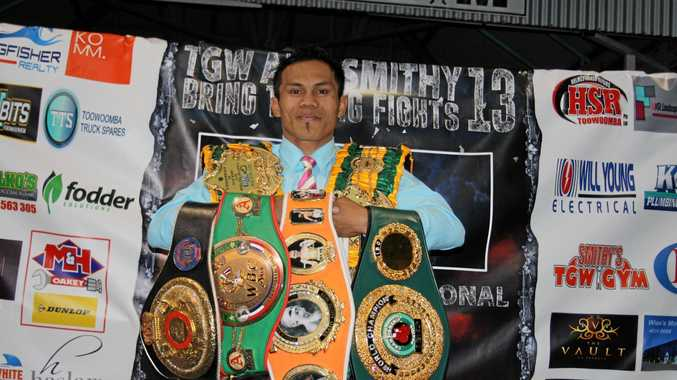 Toowoomba boxer Jack Asis is back on the title trail.
