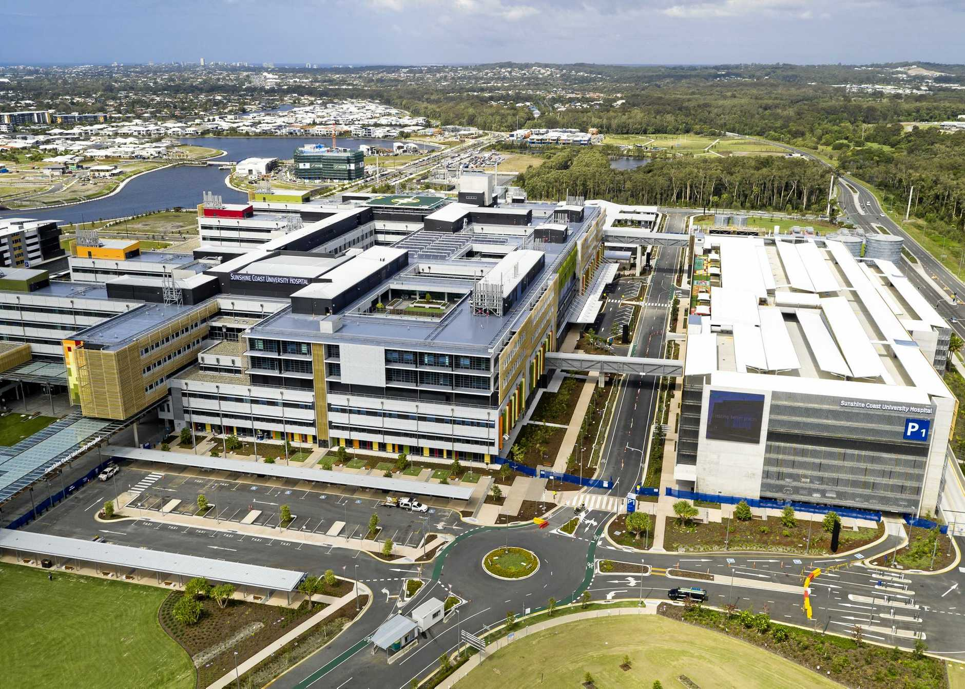 KEY PLAYER: The new Sunshine Coast University Hospital.