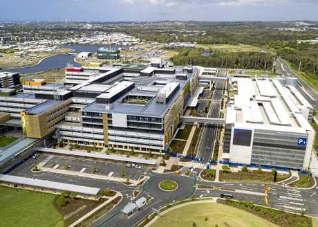 KEY PLAYER: The new Sunshine Coast University Hospital.