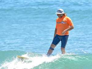 Age defying surfer to take on world champion in Kingscliff
