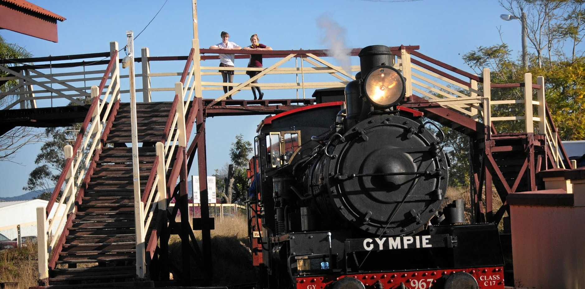 Gympie Regional Council are tossing up pulling down the historic Railway Bridge at The Mary Valley Heritage Railway after cost concerns.
