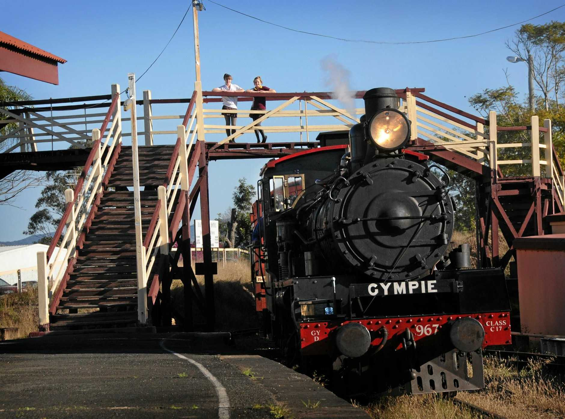 NEXT TO GO? Department of Transport and Main Road is now working with the Rattler Railway Company in assessing the safety of the bridge at Gympie railway station.