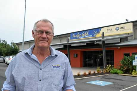 Pacific Gold Macadamias general manager Shane Johnson.