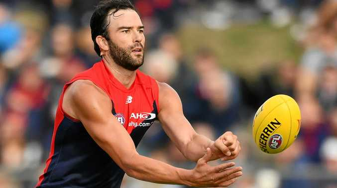 Jordan Lewis moved to the Demons in the off-season.