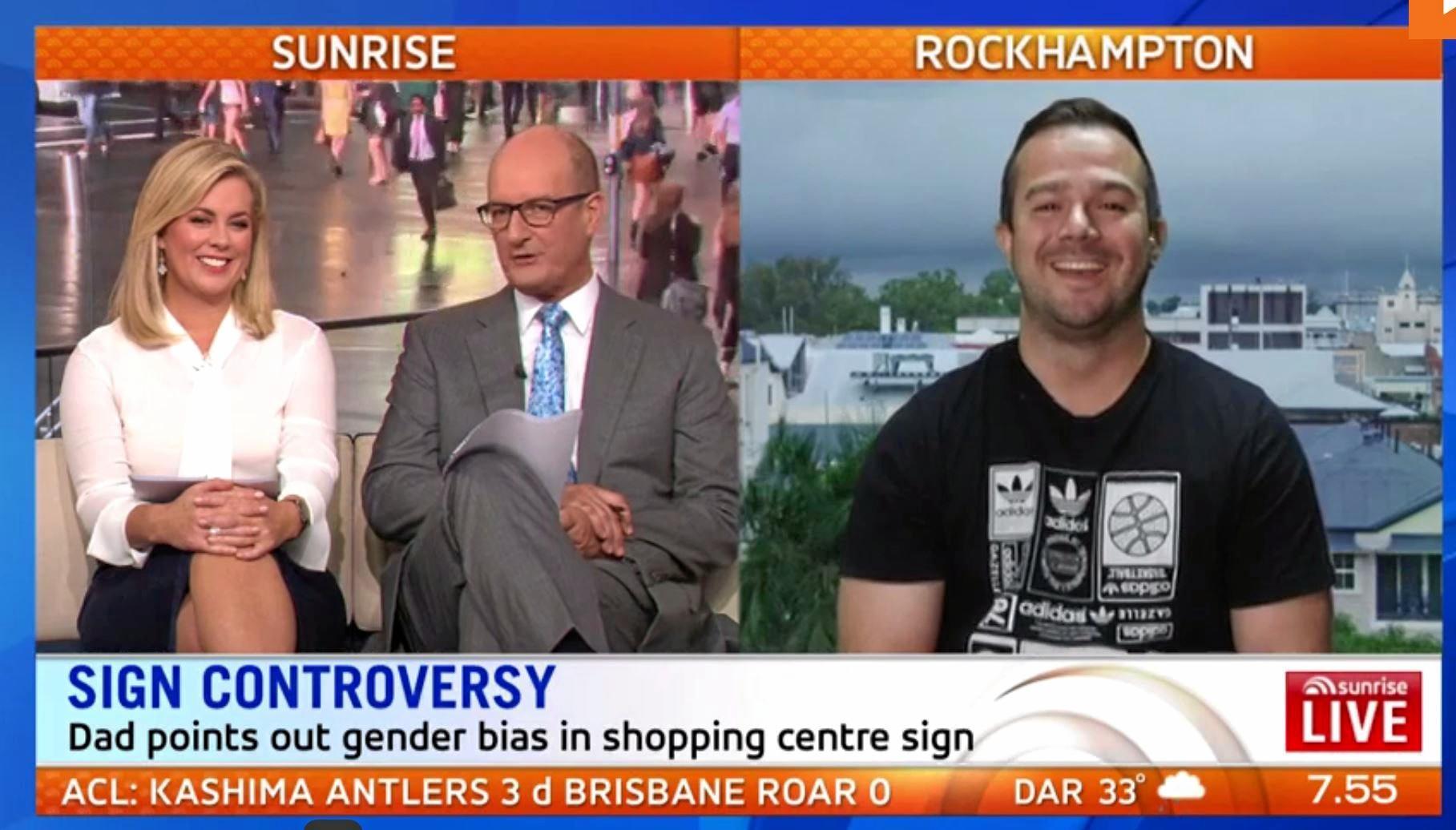 Former South Sydney Rabbitoh and Rockhampton father Jamie Simpson spoke with David