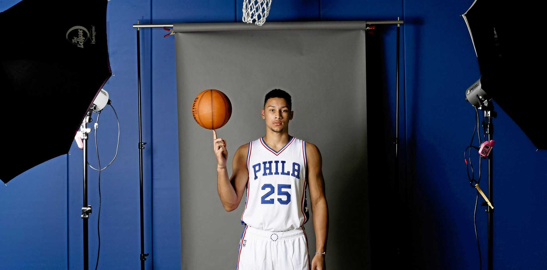 Out injured, Ben Simmons has been working on the little things, pleasing Philadelphia 76ers coach Brett Brown.