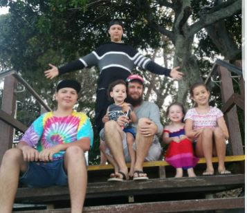 The Ipswich family of eight are asking for the public's help to fund a new car.