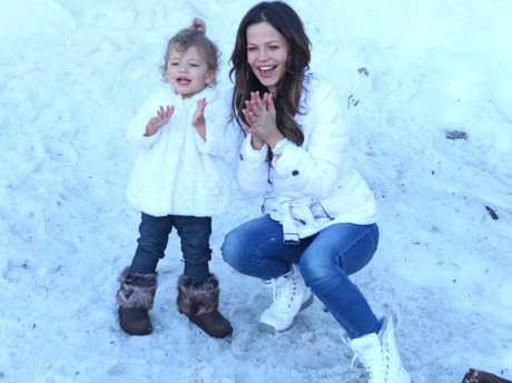 Tammin Sursok with her beautiful daughter. Picture: Tammin SursokSource:Supplied