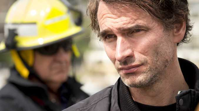 Todd Sampson in a scene from the TV series Todd Sampson's Life on the Line.