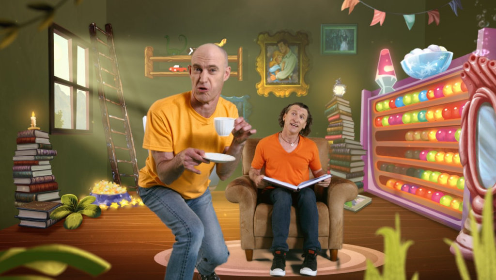 The Umbilical Brothers star in the new season of the children's TV series The Book of Once Upon A Time on Disney Jr.