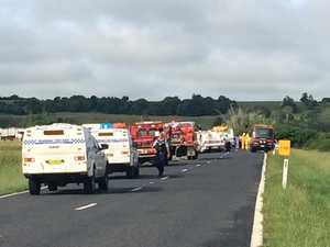 Buxner Hwy crash at South Gundurimba