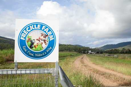 Freckle Farm is an innovative family owned farm near Eton, 40km south west of Mackay.