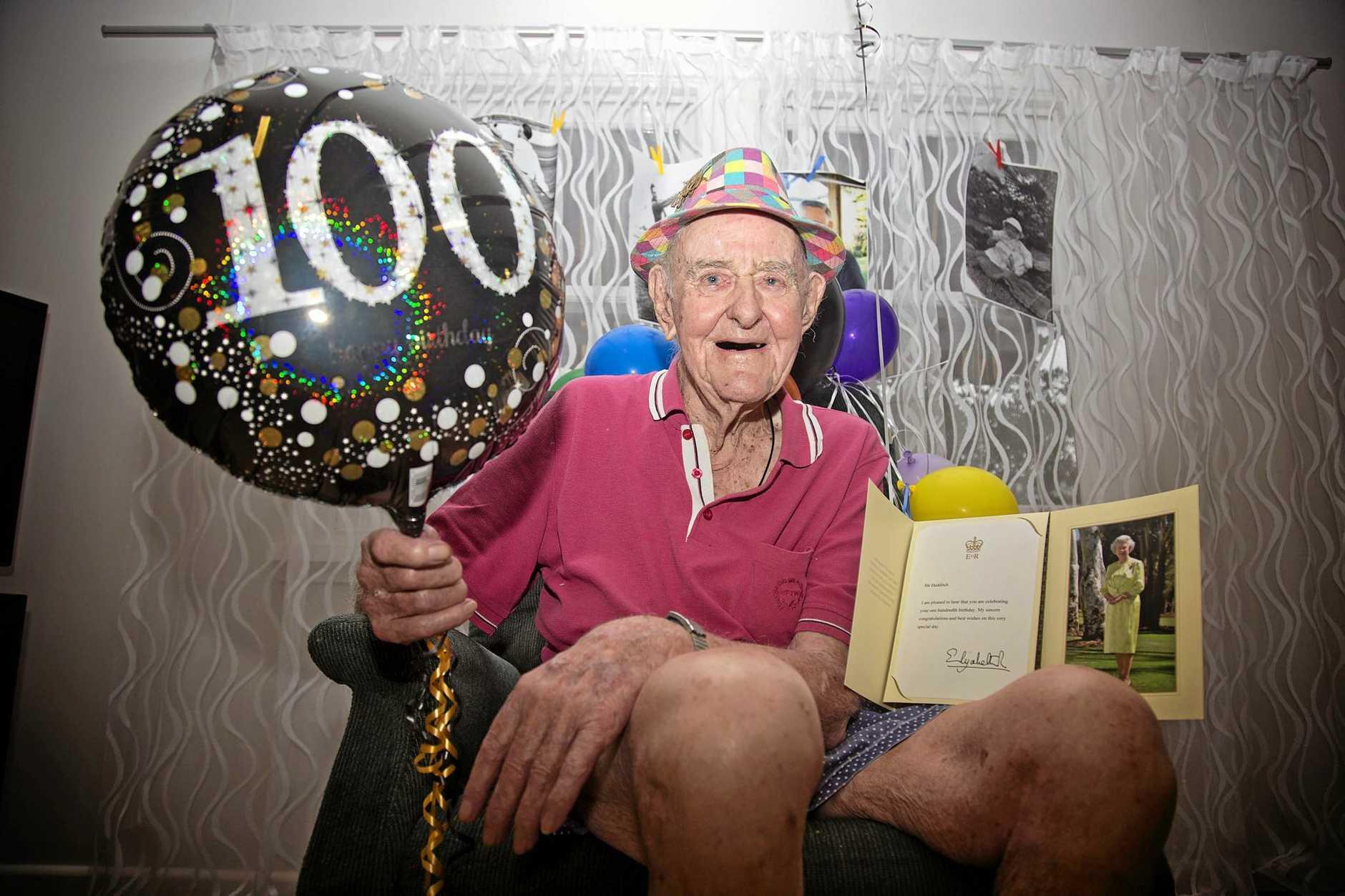 Ernest Selwyn Hedditch turned 100 earlier this week.