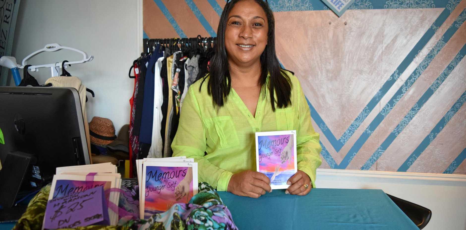 Unga Folau Tupou is promoting domestic violence awareness through fashion.