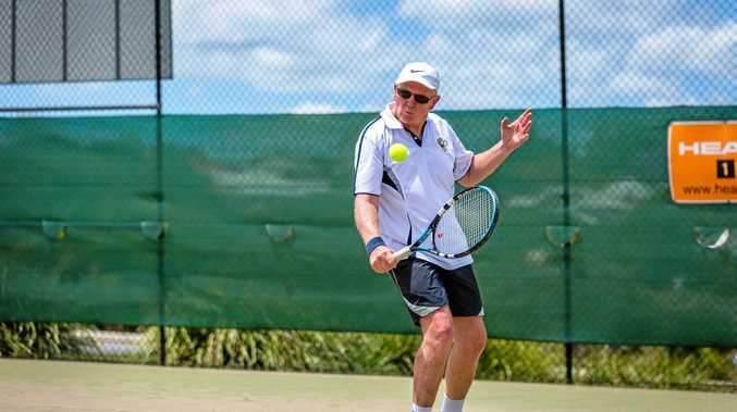 GOLD CITY TOURNAMENT: Gympie's Barry Hardingham, 62, is looking to grab his share of the prize money at this weekend's tournament.