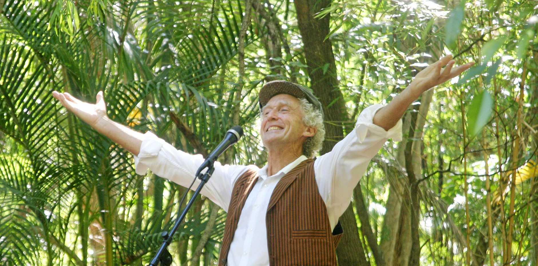 Poet and storyteller Joe Lynch.